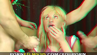 Porn Films 3D - Double penetration in another..